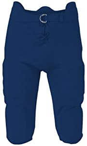 Badger Youth Integrated Football Pants NAVY YXS by Badger Sport