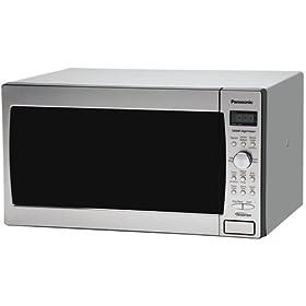 Panasonic Prestige NN-SD688S, 1.2cuft 1300 Watt Sensor Microwave Oven, Stainless Steel