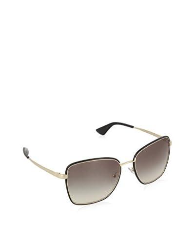 Prada Gafas de Sol 52SSSUN_1AB0A7 (58 mm) Dorado / Negro