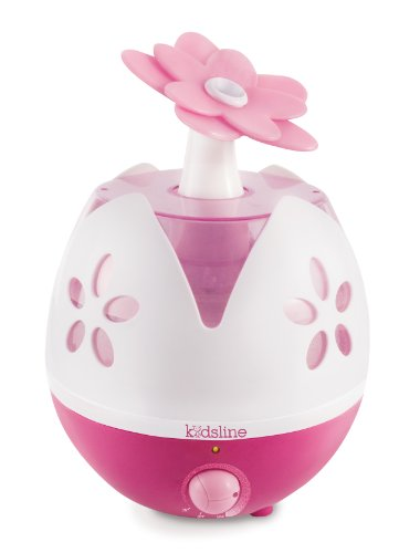 Kids Line Ultrasonic Cool Mist Humidifier, Flower