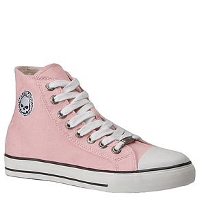 Harley Davidson Women's Encore Tennis Shoes (Pink) - 6.5 - Regular