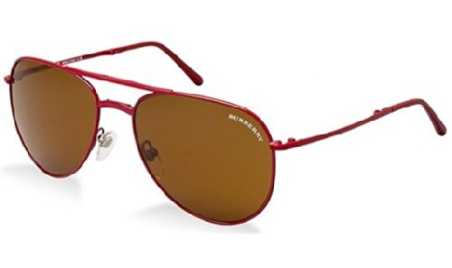 Burberry  Burberry BE3071 Sunglasses-119773 Red (Brown Lens)-57mm