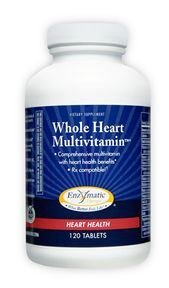 Enzymatic Therapy Inc. Whole Heart Multivitamin 120T