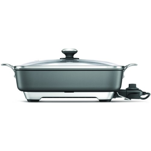 316%2BvvkXKqL Breville Thermal Pro Nonstick Aluminum Electric Skillet Review
