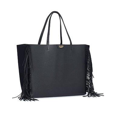 victorias-secret-limited-edition-2016-black-fringe-leather-tote-weekender