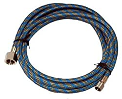 "Master Airbrush Brand, 6' Braided Airbrush Hose 1/8""-1/4"" for Iwata Air Brush"