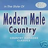 MALE HITS #1 Country Karaoke Classics CDG Music CD