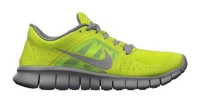 Nike Boys Free Run 3 Running Shoe Green/White (Size 3.5-7) Size 7