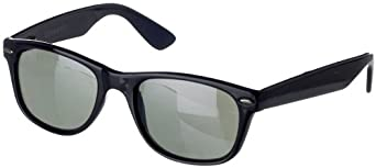 Dockers Mens Black Plastic Sunglasses One Size Black