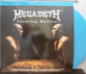 Sweating Bullets 12 Inch (12 Vinyl Single) UK Capitol 1993 by Megadeth