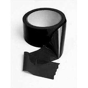 Restraint Bondage Tape 1 Roll Black