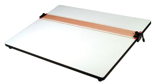 Helix PXB Drawing Board with Parallel Straight Edge, 18 inch x 24 inch, 1 Board (37179)