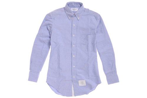 【2013SS】トムブラウン オックスフォードシャツ ブルーxホワイト / THOM BROWNE [並行輸入品]
