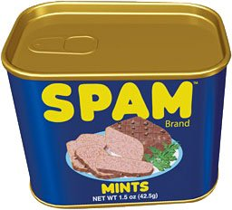 SPAM Candy Mints In A Tin 