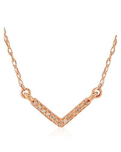Divas Diamond Set catenina e pendente Diamond Gold V