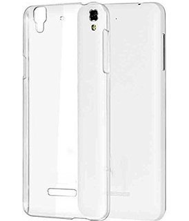 RockZone Dotted Finish Ultra Thin Silicone Soft Case Back Cover for Micromax YU Yureka Plus - Transparent