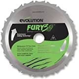 Advanced EVOLUTION (POWERTOOLS) - FURYBLADE210MULTI - BLADE, M/PURPOSE, FURY, 210MM - Min 3yr Cleva Warranty