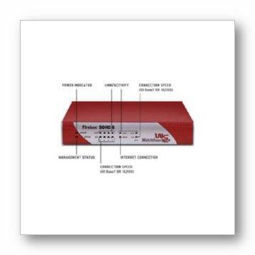 WatchGuard Firebox SOHO 6 Firewall and VPN Appliance
