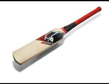 Mongoose Cricket Boy's MMI3 Series (Eng Willow) Cricket Bat - Red/Black, Harrow