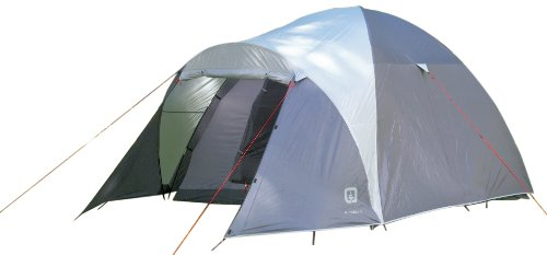 Outbound Klondike 5 Person Dome Tent (Grey, Large), Outdoor Stuffs