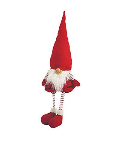 ZZZ-VILLA D'ESTE Colgante Árbol Gnome Balin Rojo
