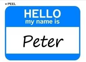 hello my name is peter Contextual translation of hello, my name is james into german human translations with examples: hello, my name is.