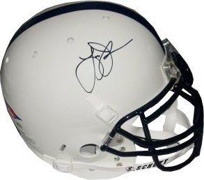 Larry Johnson signed Penn State Nittany Lions Schutt Authentic Helmet- Johnson...