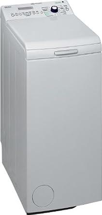 Bauknecht WAT UNIQ 632 FLD Waschmaschine Toplader / A+++ B / 1200 UpM / 6 kg / Weiß / Vollwasserschutz / FLD-display / Mengenautomatik