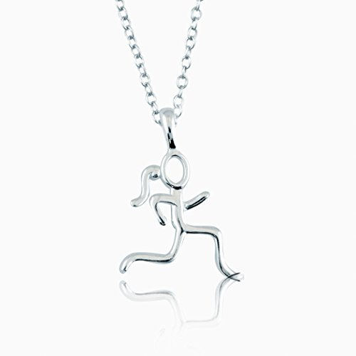 sterling-silver-stick-figure-runner-necklace-925-sterling-silver-necklaces-running-jewelry