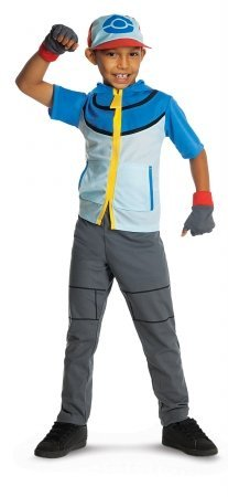 Pokemon Child's Deluxe Ash Costume - One Color - Small