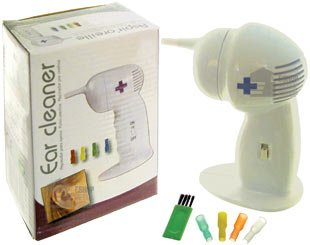 Great Ideas Pair / Pack of 2 Electronic Ear Cleaners - Battery Powered Electric Ear Wax Remover For Removal Of Earwax