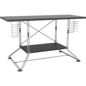 Cheap SOHO HDTV Stand – Black And Silver (GB1180)