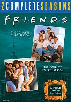 Friends: The Complete Third & Fourth Seasons by Warner Home Video