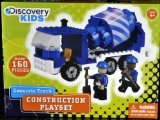 Discovery Kids Concrete Truck Construction Playset