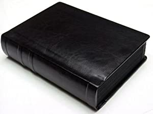 Professional 5x7 Black Silver Edged Slip-In Wedding//Parent Photo Album holds 24 Photos
