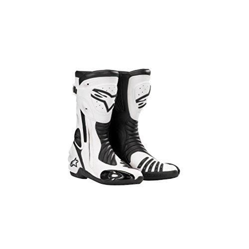 Alpinestars S-MX R Boots , Color: Black/White, Size: 40 222208-12-40