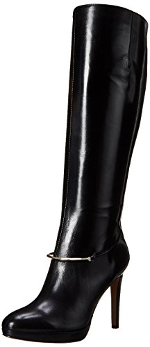 nine-west-pearson-wide-calf-women-us-5-black-knee-high-boot