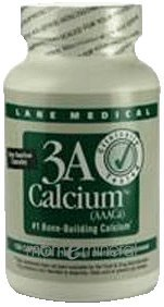 3A Calcium 167 mg 150 Capsules by Lane Labs