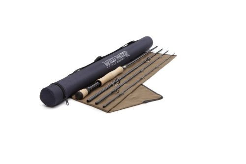Wild Water Fly Fishing 7 Weight, 9 Foot 4 Piece Saltwater Fishing Rod