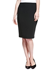 M&S Collection Double Crêpe Panelled Skirt