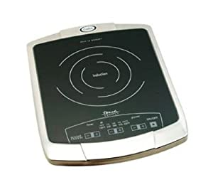 Countertop Stove Amazon : Amazon.com: Cadco BIR1C Countertop Commercial Induction Cooktop, 120v ...