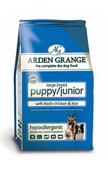 Arden Grange Puppy/Junior Large Breed with Fresh Chicken  &  Rice 15kg 15000g