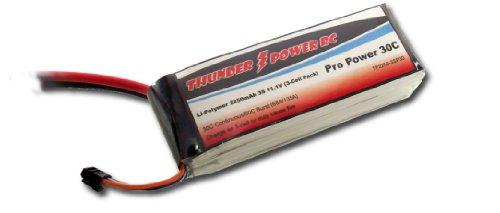Thunder Power RC 2250mAh 3-CELL/3S 11.1V G4 Pro Power 30C LiPo Battery