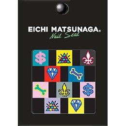 ウイングビート EICHI MATSUNAGA ネイルシール Sー001
