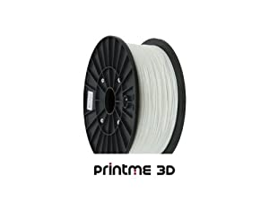 PrintME 3D - ABS Filament 3mm - 1kg 3D Printing (White)