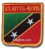 St. Kitts and Nevis - Country Shield Patches - Buy St. Kitts and Nevis - Country Shield Patches - Purchase St. Kitts and Nevis - Country Shield Patches (Flagline.com, Home & Garden,Categories,Patio Lawn & Garden,Outdoor Decor,Banners & Flags)