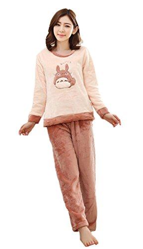 My Neighbor Totoro nightgown Sleeve Costume pajamas XXL Apricot