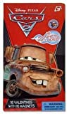 Disney Pixar Cars 2 Valentine Cards with Magnets (45798)