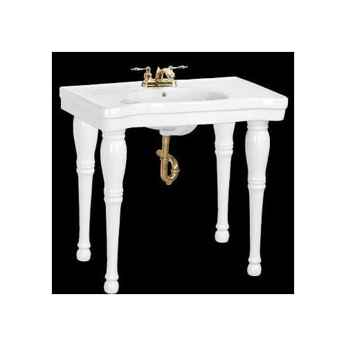 4 Leg Pedestal Sink