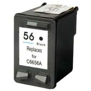 Druckerpatrone kompatibel für HP 56 black schwarz